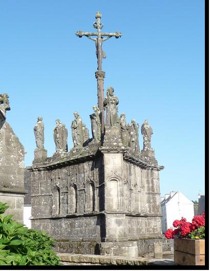 Calvaire de Confort-Meilars en Bretagne