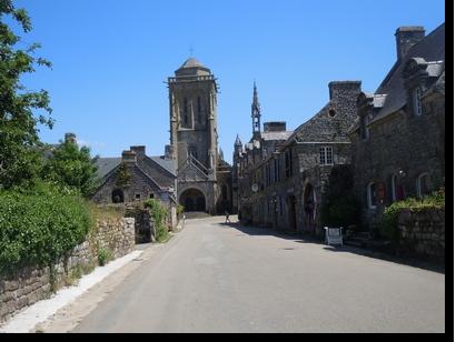 Locronan en Bretagne
