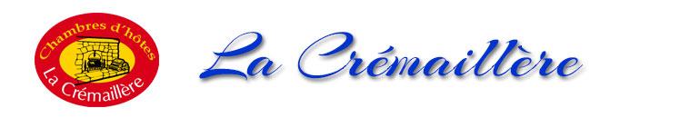 Chambres d'hôtes La Crémaillère Logo
